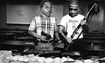 Pusha T and Jay Z (Cartoon)