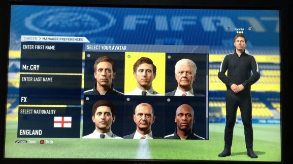 Career Mode - Managers