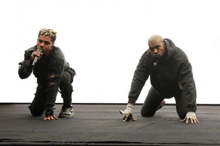 Vic Mensa and Kanye West