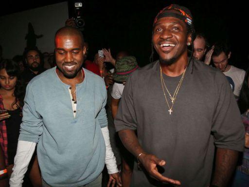 Kanye West and Pusha T
