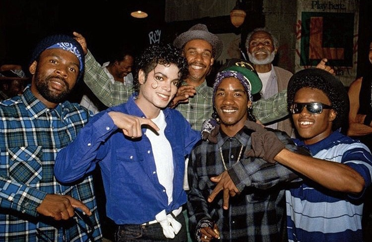 "Michael Jackson got real Crip gang members to appear in the video for ""The Way You Make Me Feel"""