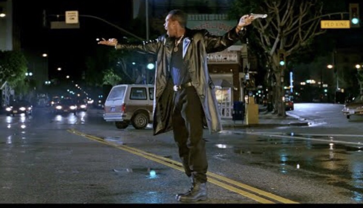 Chris Tucker dancing to 'Another Part Of Me' in the first Rush Hour film.